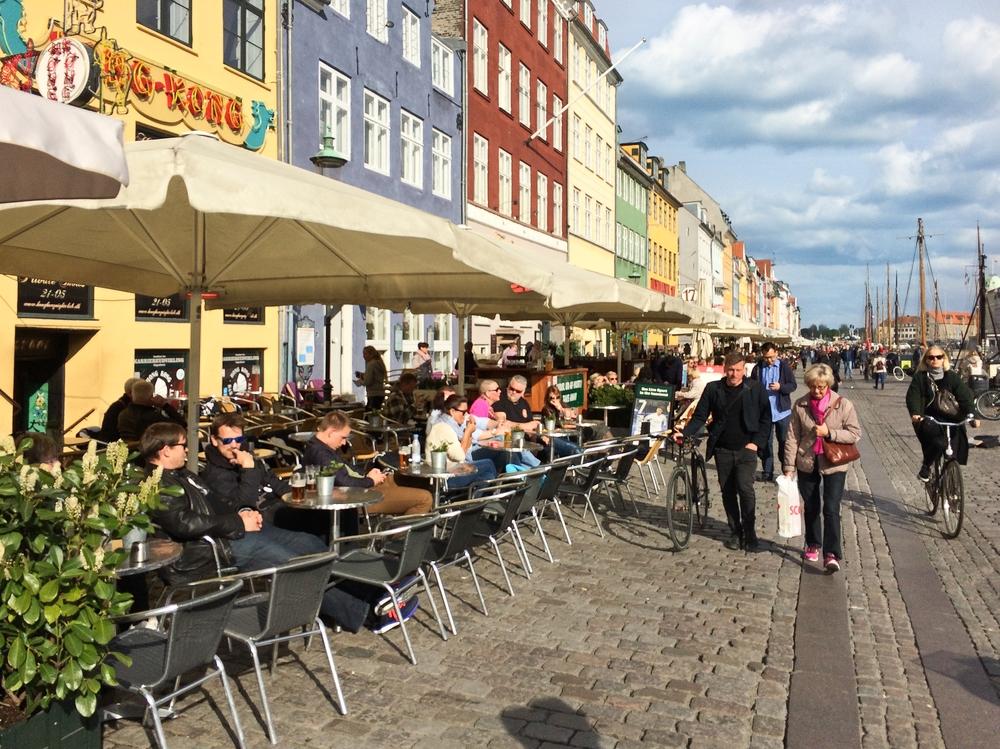 Kopenhagen Nyhavn Café Bar
