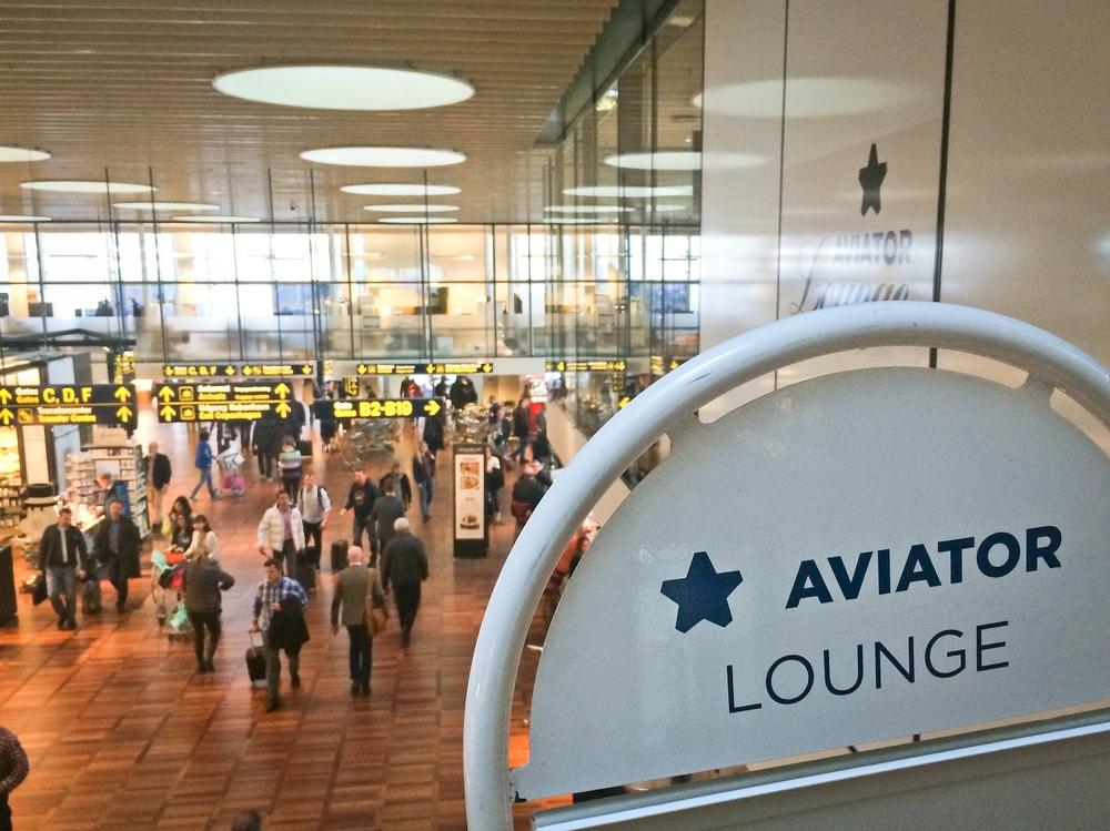 Aviator Lounge Flughafen Kopenhagen-Kastrup