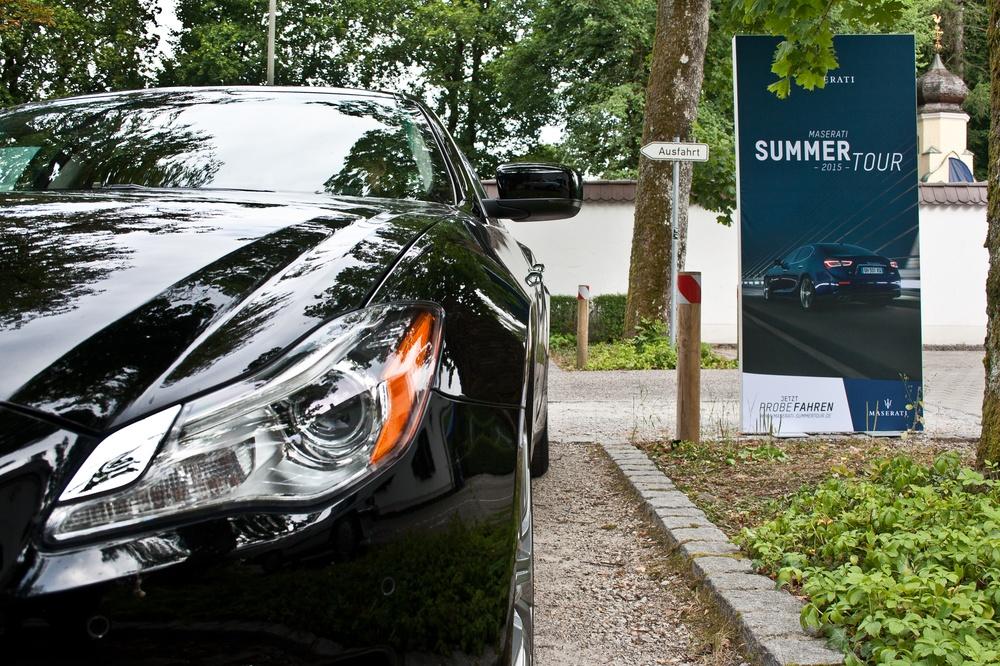 Maserati Summertour in Grünwald bei München