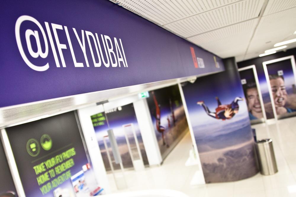 iflydubai - indoor skydiving dubai