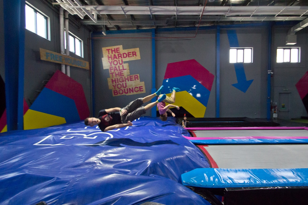 Bounce Inc Dubai - Indoor Trampoline Park