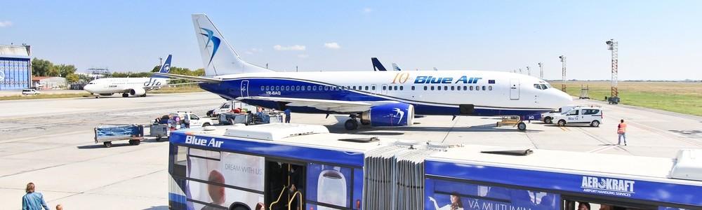 Blue Air Flughafen Bukarest