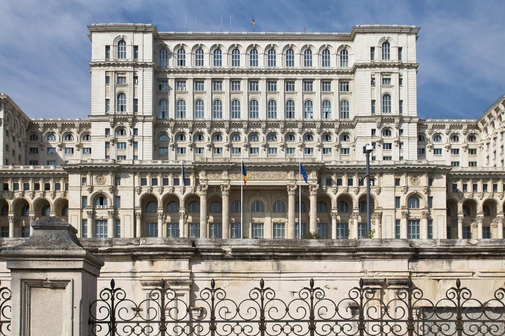 Parlamentspalast Haus des Volkes Bukarest