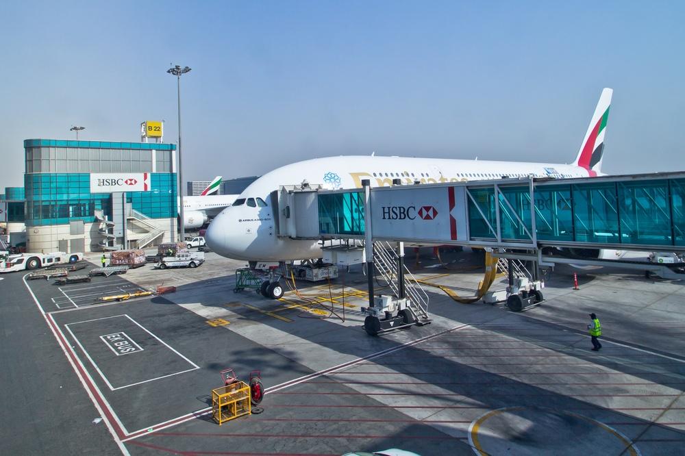 Flug München Dubai A380 Airbus Emirates