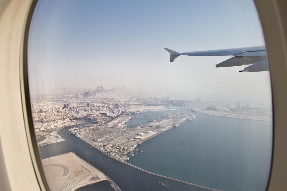 Rückflug Dubai München Emirates A380