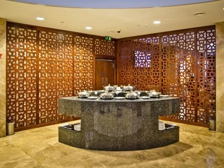 Airport Lounge Check - Al Dhabi Lounge Abu Dhabi Flughafen