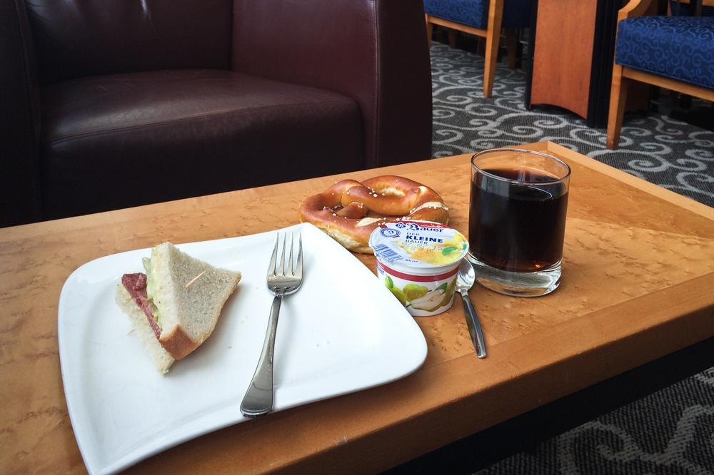 Airport Lounge Check - Sky Club Lounge Frankfurt Flughafen