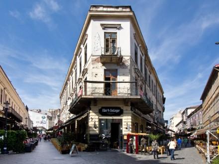 Lipscani-Viertel Bukarest Altstadt
