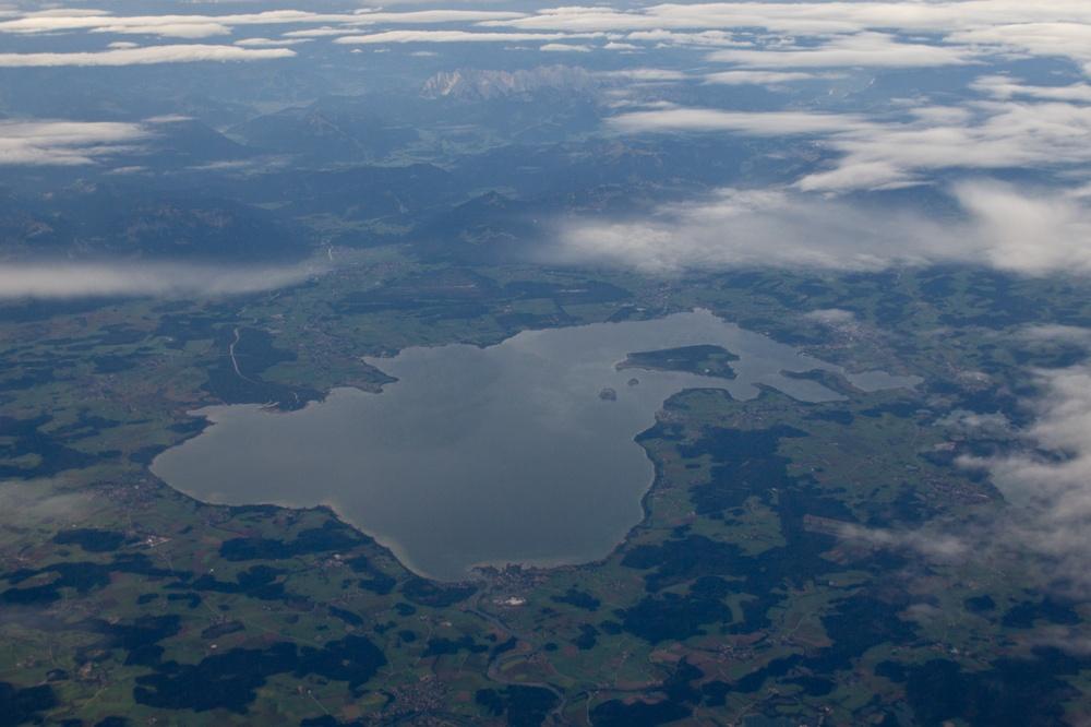 Chiemsee Luftbild