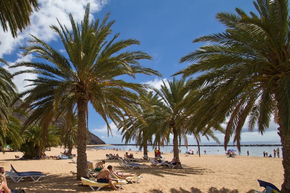 Strand Teneriffa Kanarische Inseln