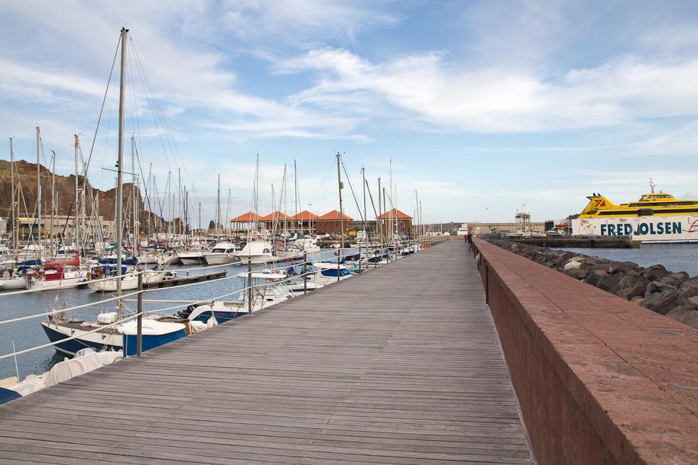 Yachthafen San Sebastián de La Gomera