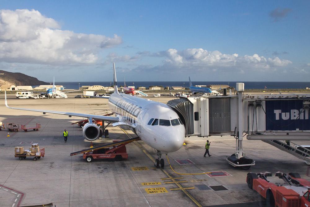 Flughafen Las Palmas Gran Canaria