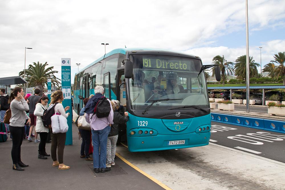 Transfer Bus Flughafen Gran Canaria Las Palmas