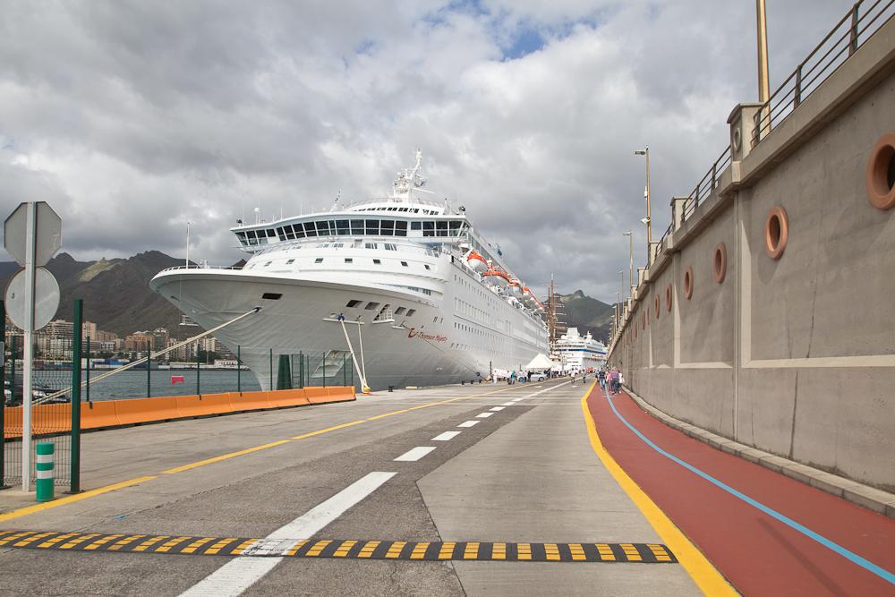 Hafen Santa Cruz de Tenerife auf Teneriffa