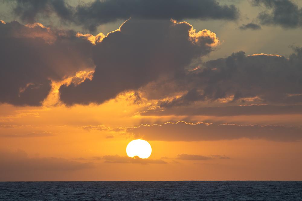 Sonnenuntergang Sea Cloud II