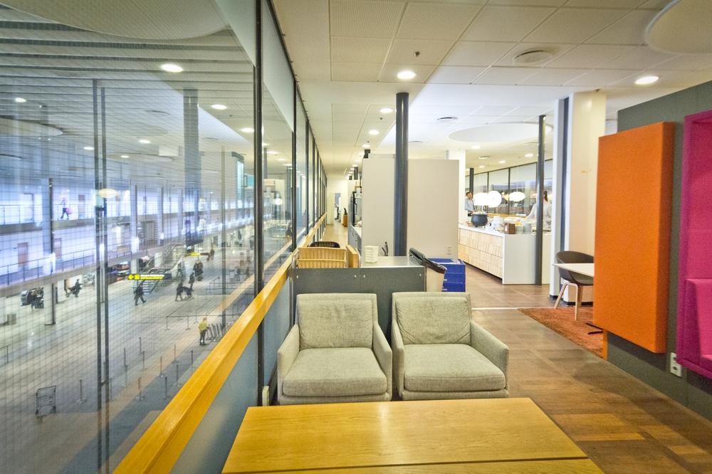 Aspire Lounge Kopenhagen Flughafen