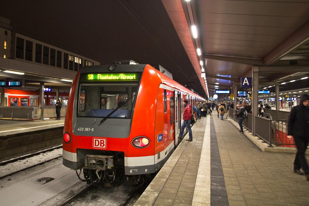 München Ostbahnhof Flughafen S-Bahn
