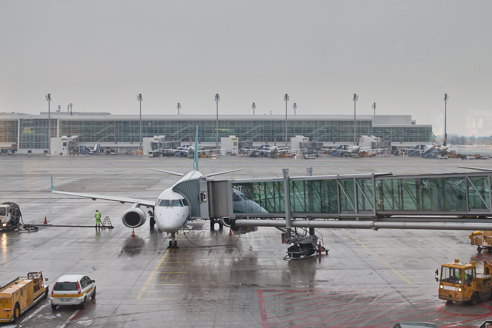 Air Dolomiti Finger Flughafen München
