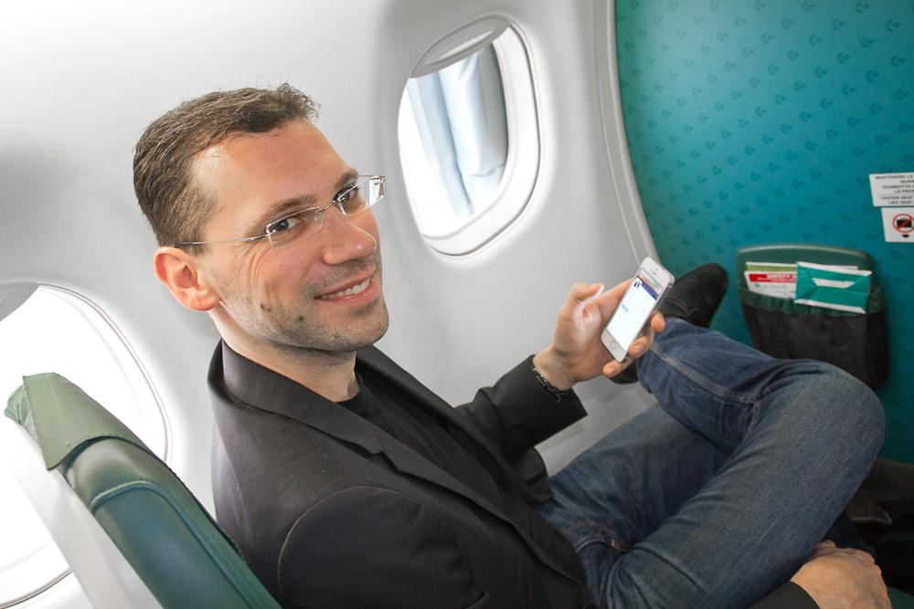 Travel blog blogger Business Class Air Dolomiti Lufthansa