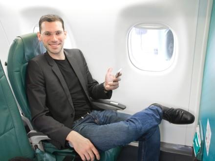 Reiseblogger Reiseblog Business Class