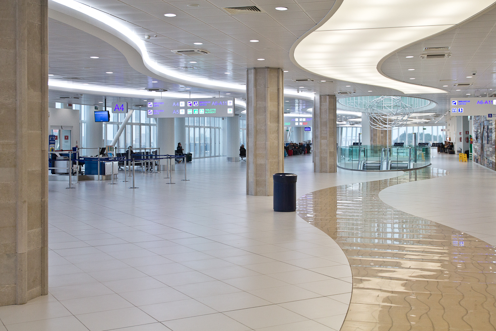 Flughafen Bari Apulien Italien