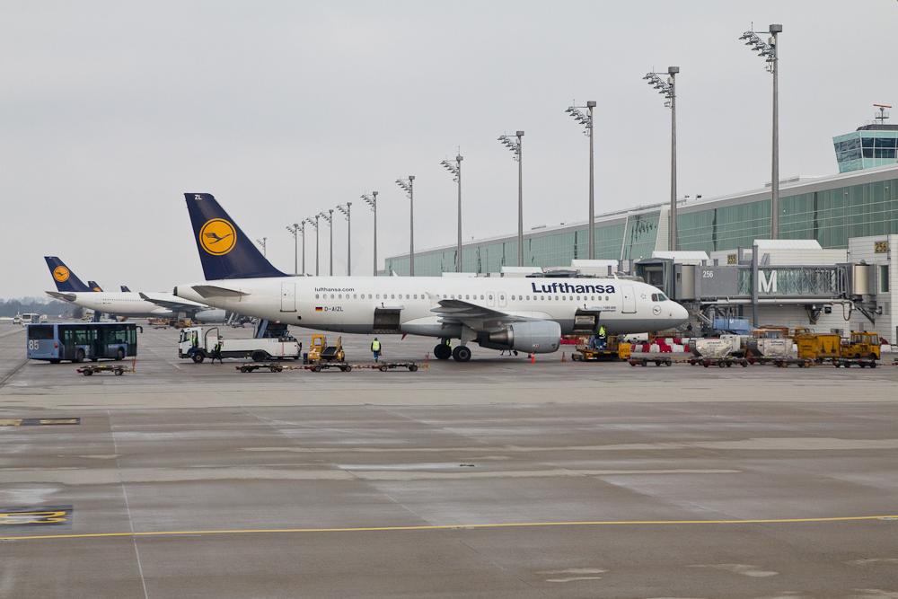 Lufthansa Terminal 2 Munich Airport