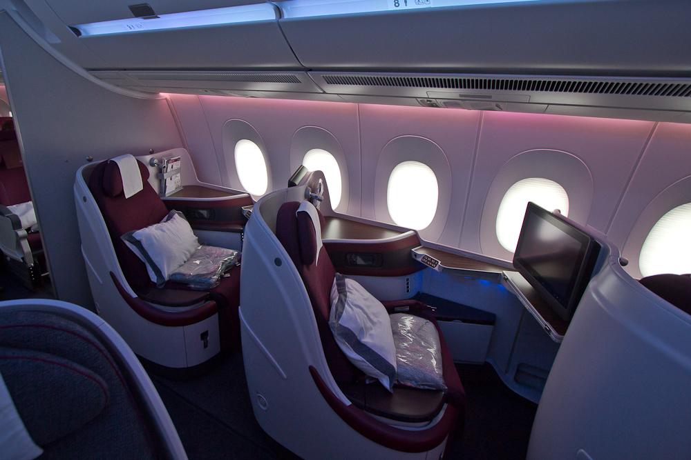 Airbus A350 Qatar Airways München Doha