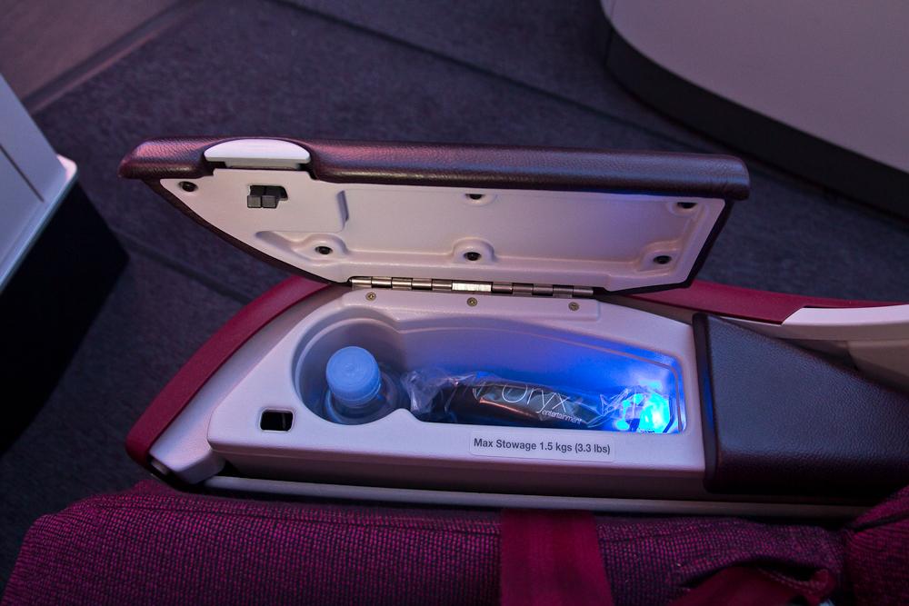 Lie Flat Business Qatar Airways Airbus A350