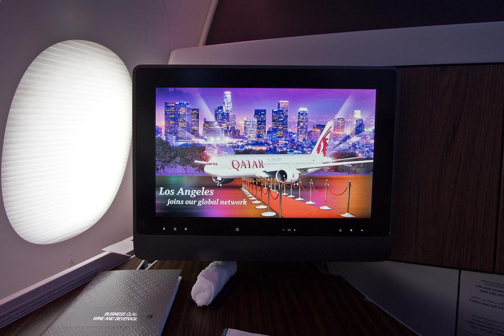 Business Class Qatar Airways Airbus A350