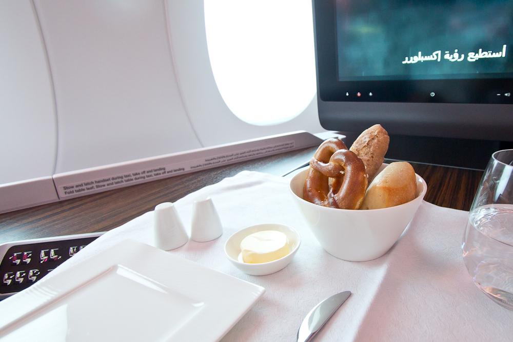 Essen Business Class C Qatar Airways Airbus A350
