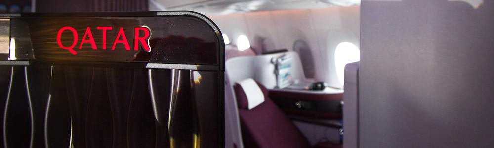 Bar Business Class C Qatar Airways Airbus A350