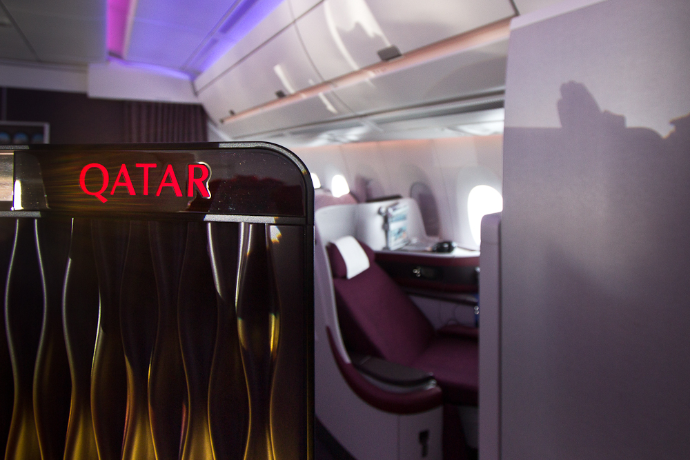 Bar Business Class C Qatar Airways Airbus A350