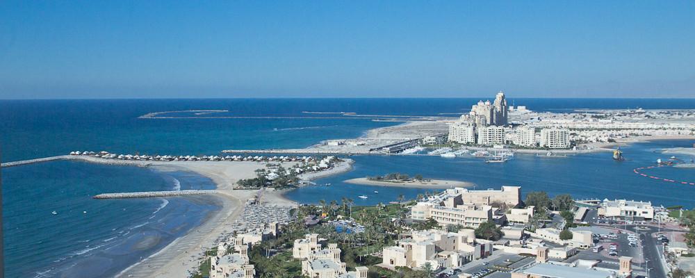 Ras Al Khaimah Stadt Hafen