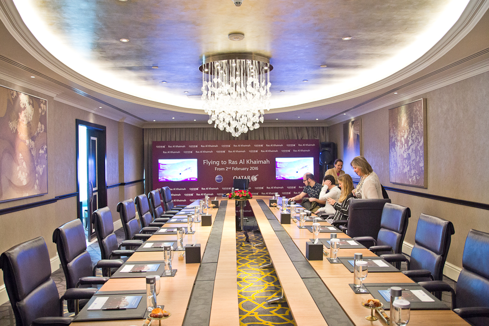 Pressekonferenz Qatar Airways Media Round Table Ras Al Khaimah
