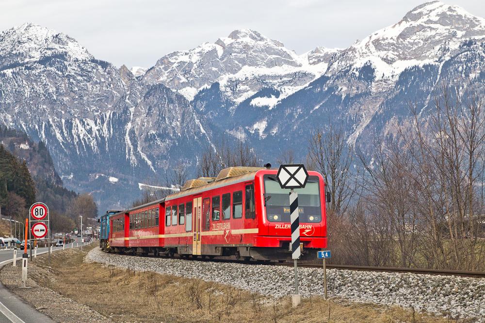Zillertalbahn Zillertal Zug