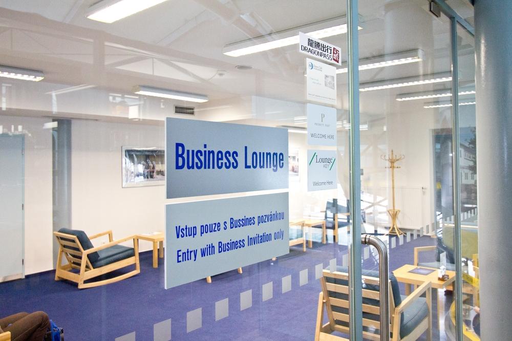 Airport Lounge Check -Business Lounge Brno Brünn Flughafen