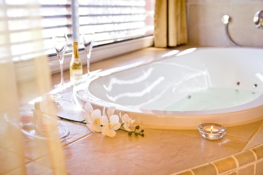 Hotel Suite eigener Whirlpool