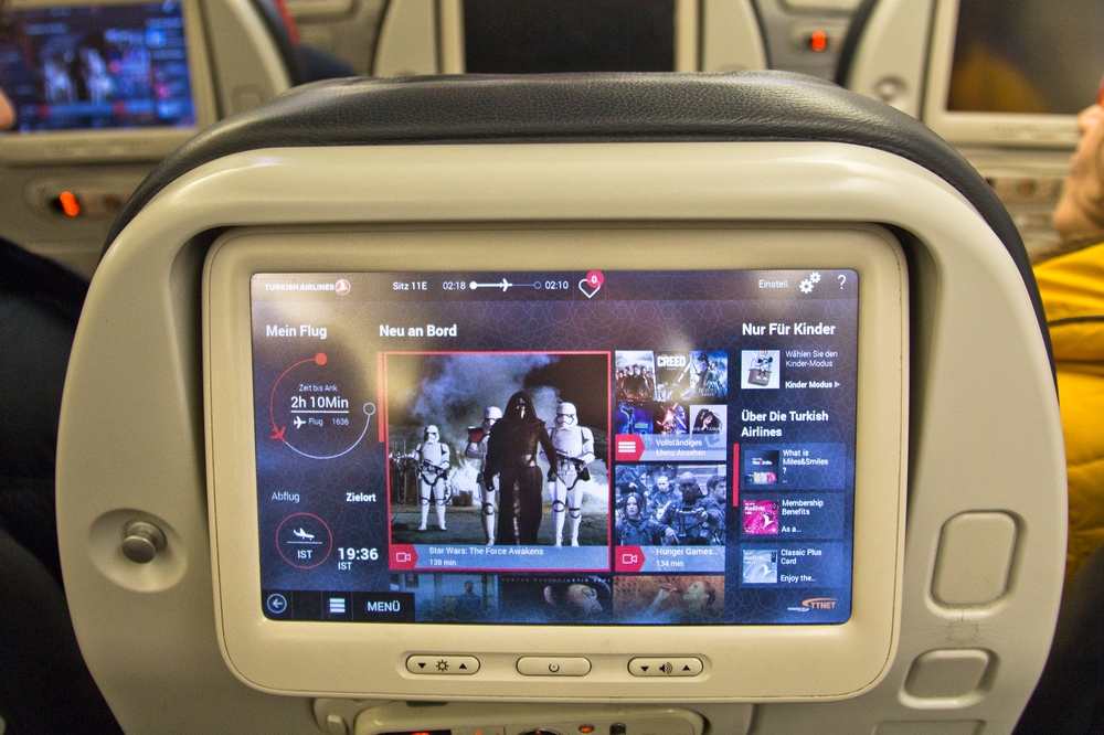 Turkish Airlines Inflight Entertainment