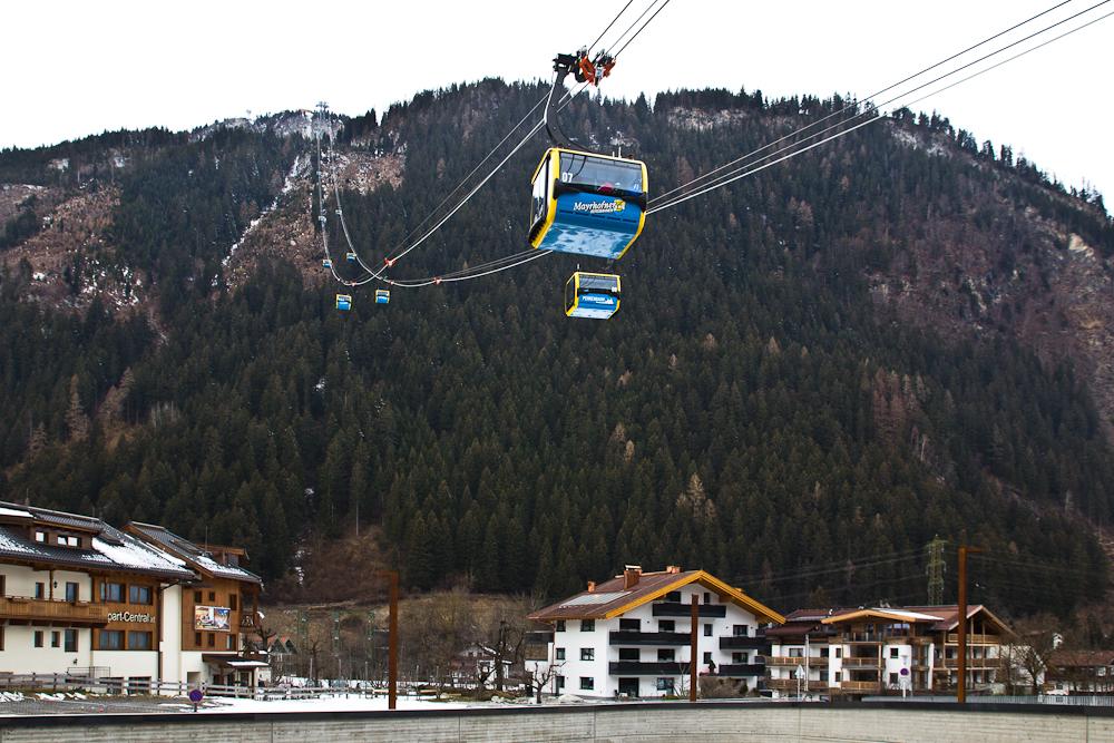 Penkenbahn Mayrhofen Talstation Zillertal