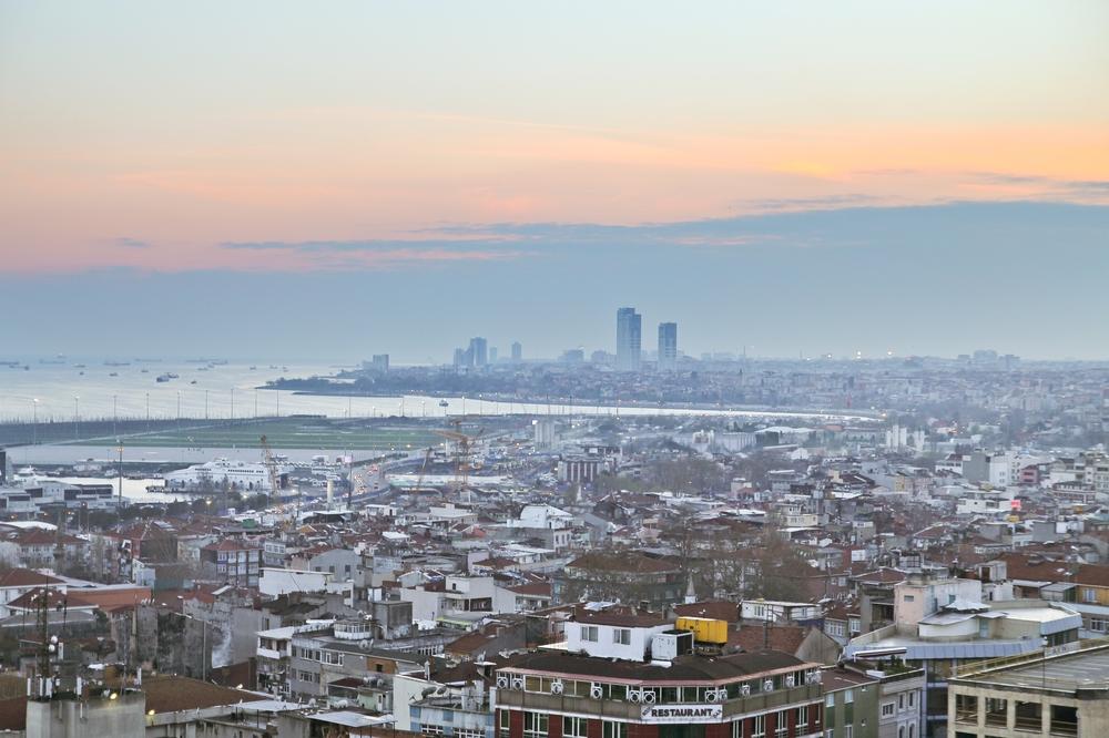 Istanbul Bosporus Sonnenuntergang Sunset