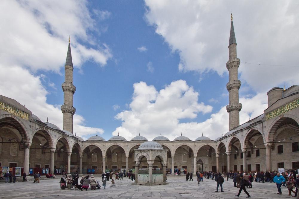 Blaue Moschee Istanbul Reise Sightseeing Sehenwürdigkeit