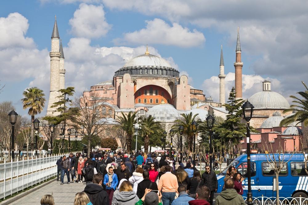 Hagia Sophia Istanbul Reise Städtetrip Urlaub