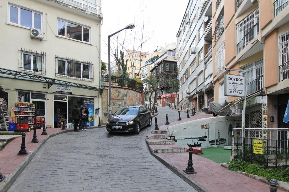 Istanbul Weg Taksim Platz