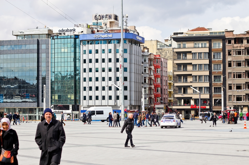 Taksim Platz Istanbul Städtereise