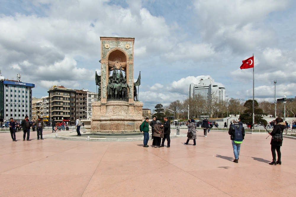 Denkmal der Republik Istanbul Taksim Platz