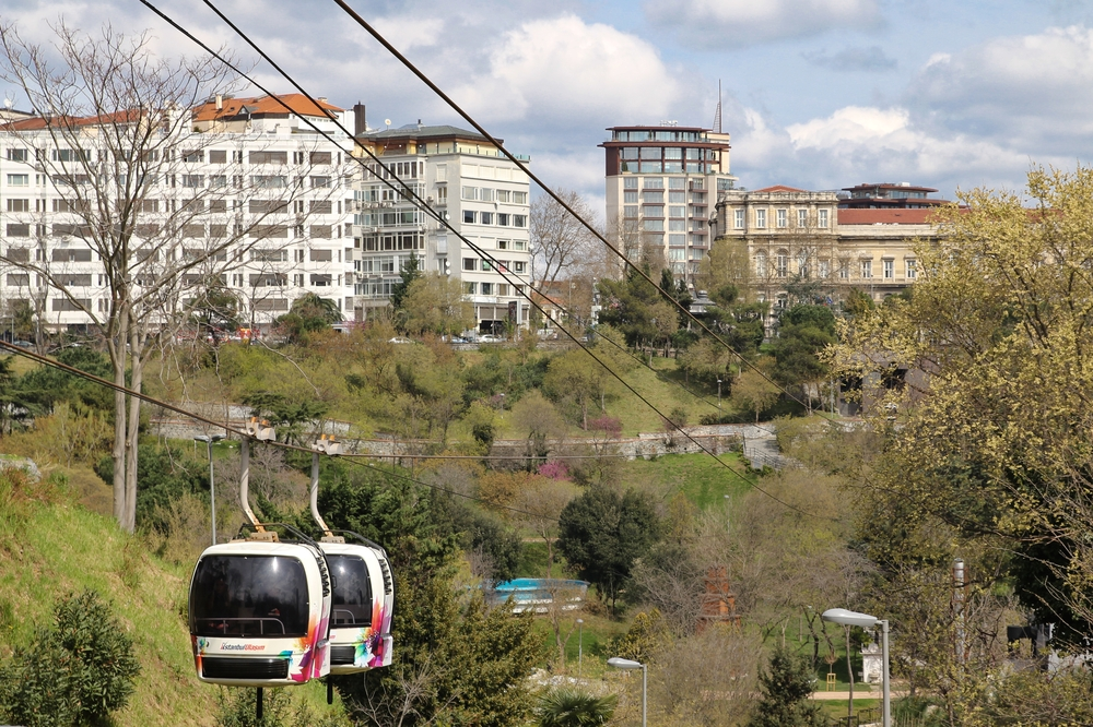 Gondel Istanbul Maçka-Taşkışla teleferiği