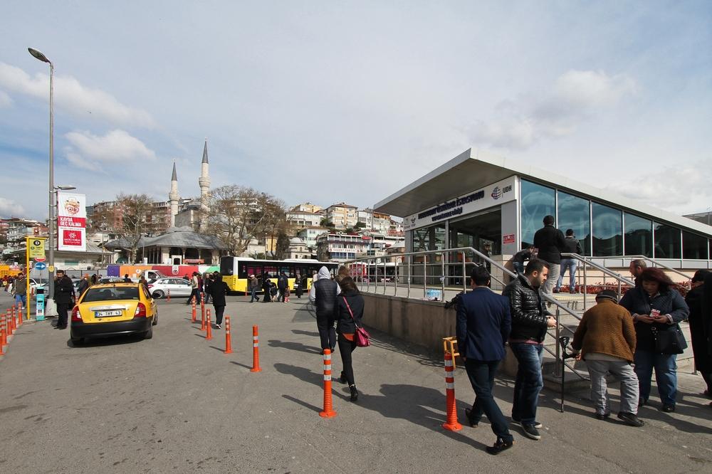 Üsküdar Marmaray Line Istanbul Station