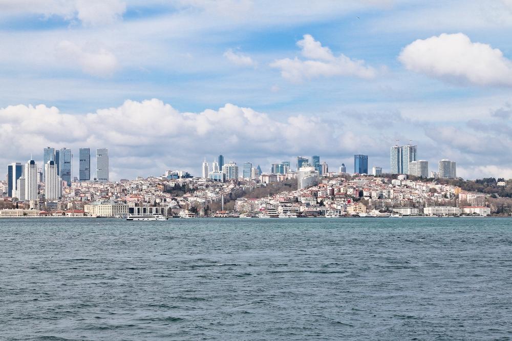 Bosporus Istanbul europäische Seite