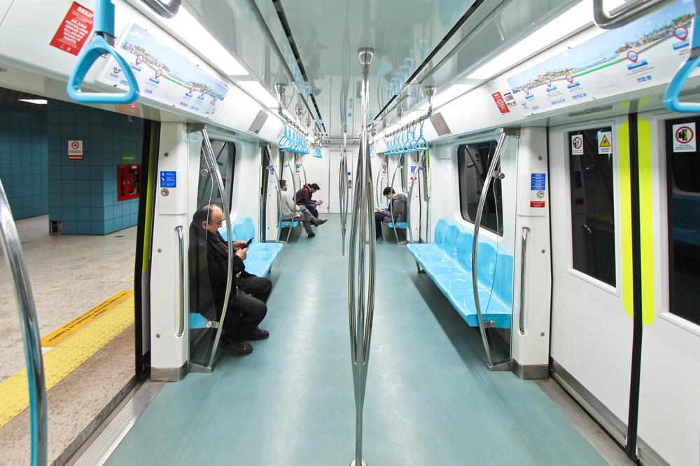 Marmaray Tunnel Istanbul S-Bahn Reise