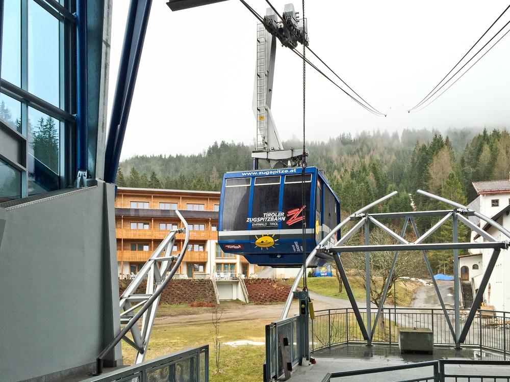 Tiroler Zugspitzbahn Tirol Zugspitze